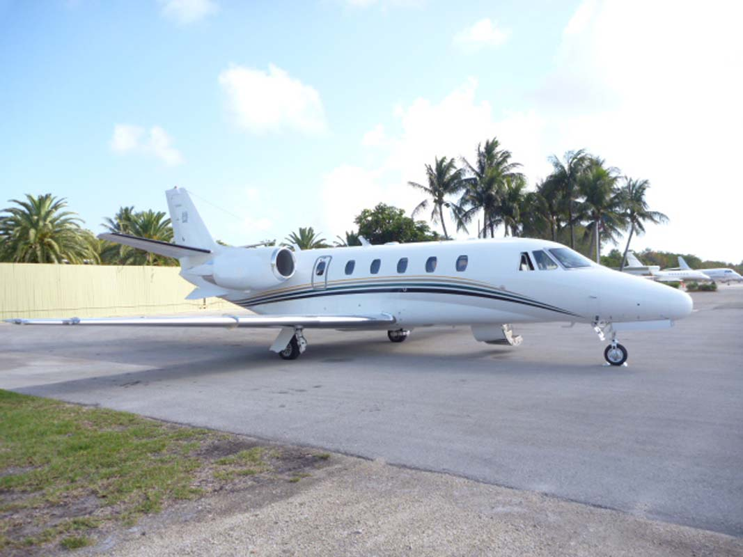 Skyservice Charter Fleet Mid-Sized Jet  Citation Excel Exterior