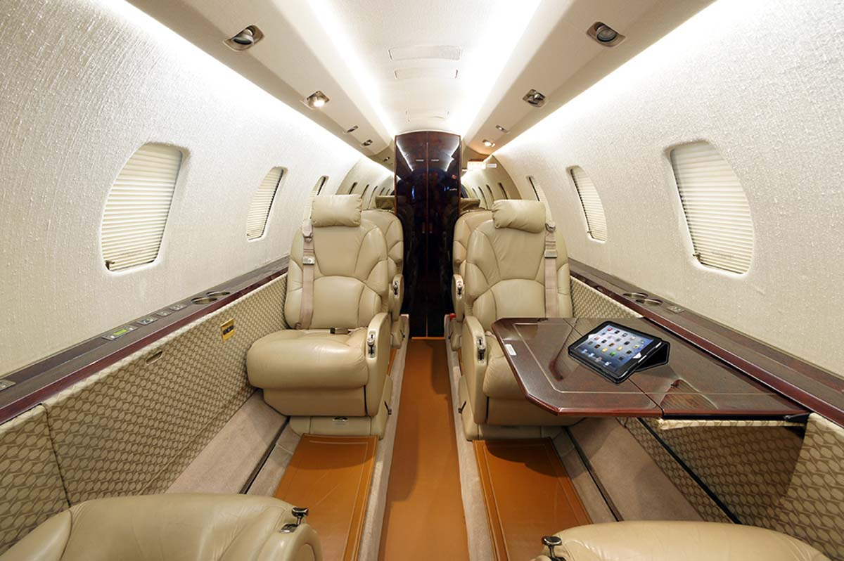 Skyservice Charter Fleet Mid-Sized Jet Citation Excel Interior 2