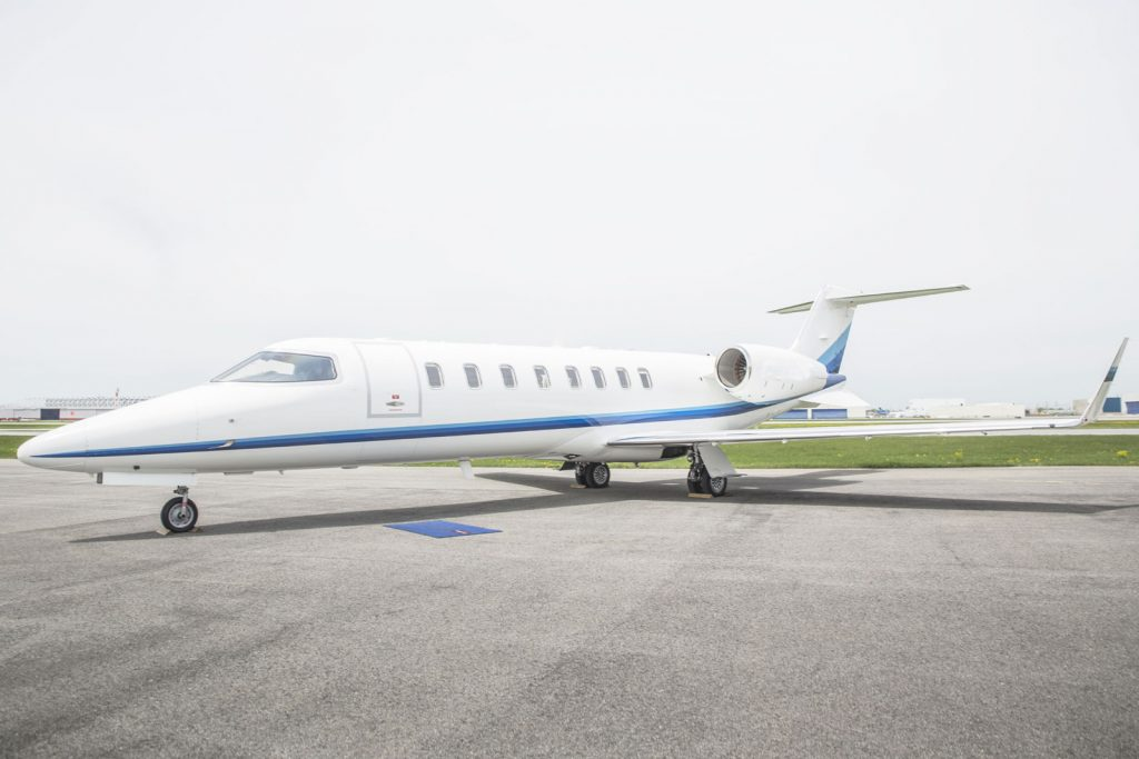 The Learjet 45 STC for SD DLU installation for Skyservice aircraft