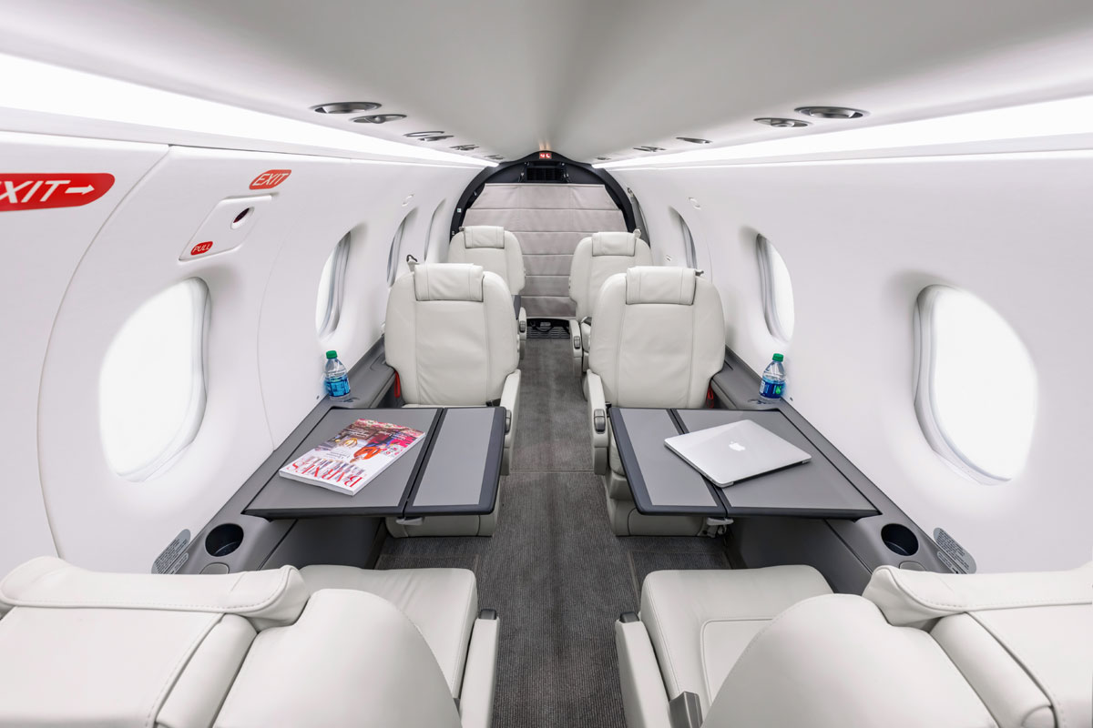 Pilatus PC-12NG Interior 1
