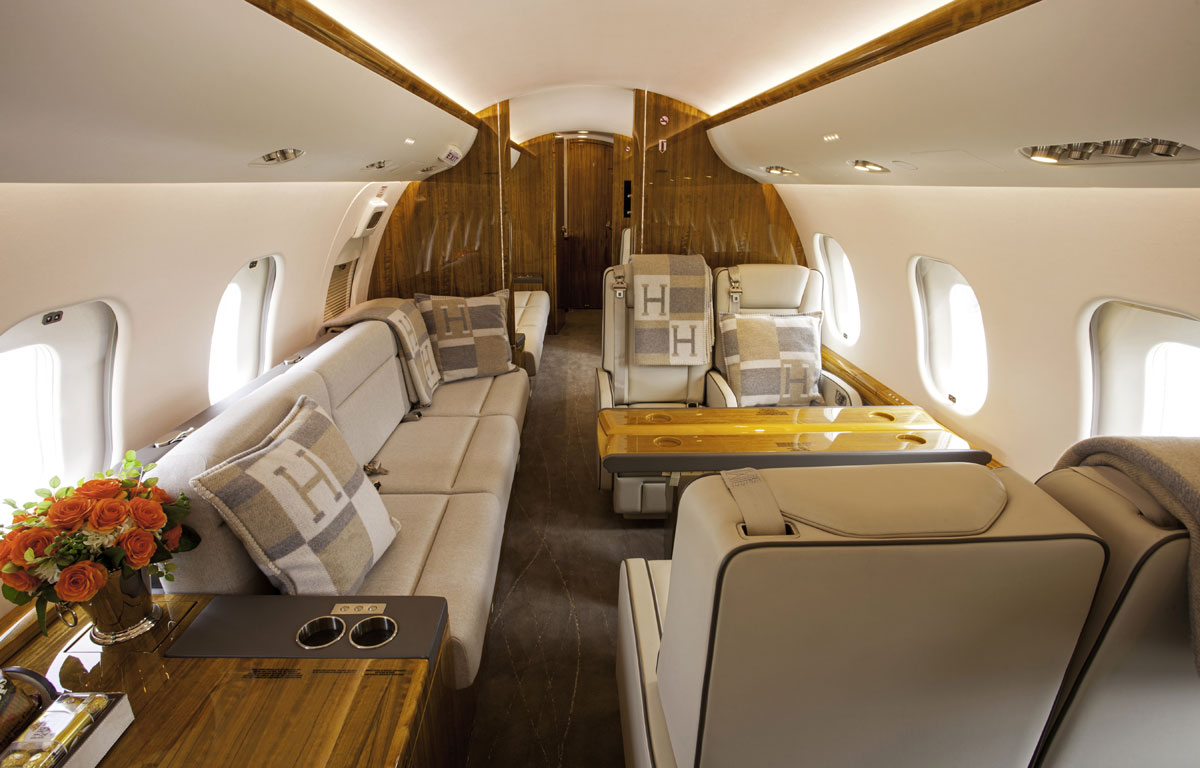 GLOBAL EXPRESS XRS Interior Cabin 2