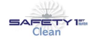Safety First Clean Logo